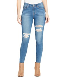 WILLIAM RAST Perfect Ripped Ankle Skinny Jeans