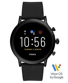 Tech Gen 5 Carlyle HR Black Silicone Strap Smart Watch 44mm
