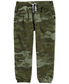 Carter's Baby Boys Fleece Camo Jogger Pants