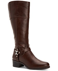 Helenn Wide-Calf Riding Boots, Created for Macy's