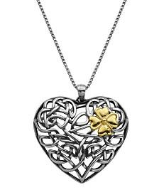 Prime Art & Jewel Sterling Silver Heart Pendant