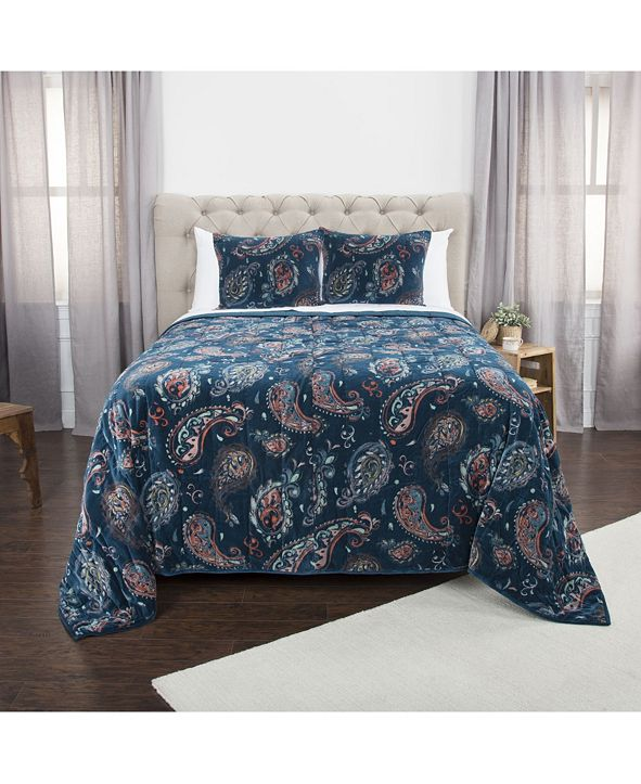 Rizzy Home Riztex USA Evanstar King Quilt