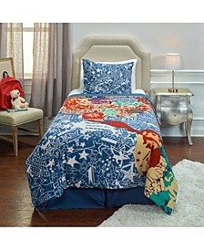 Travel and Explore Twin 2 Piece Comforter Set