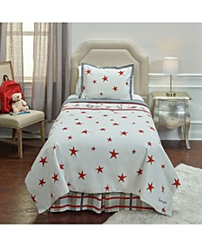 Punk Rock Animal Stars Full/Queen 3 Piece Comforter Set