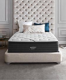 """Beautyrest Black L-Class 15.75"""" Medium Firm Pillow Top Mattress Set - King"""