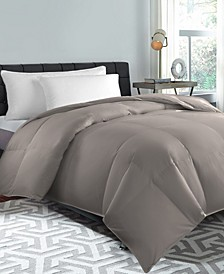 240 Thread Count Down Feather Comforter, Full/Queen