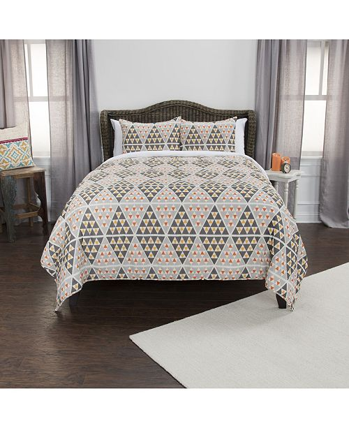 Rizzy Home Riztex USA Tommy Twin XL 2 Piece Quilt Set