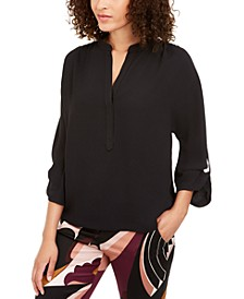 Roll-Tab-Sleeve Popover Top