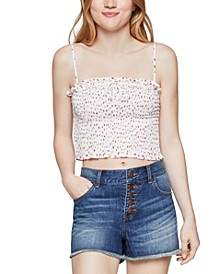Smocked Crop Top