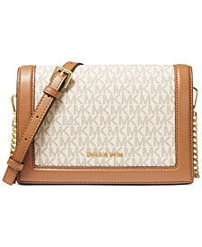 Signature Jet Set Full Flap Chain Leather Crossbody
