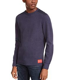 Men's Waffle Crewneck Shirt