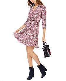 Printed Wrap-Dress, Created for Macy's