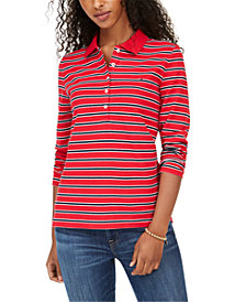 Tommy Hilfiger Long-Sleeve Polo Shirt