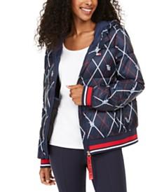 Tommy Hilfiger Sport Logo Puffer Coat