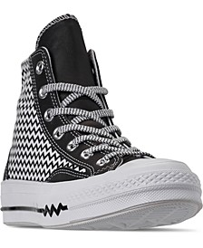 Women's Chuck Taylor All Star 70 Mission V High Top Casual Sneakers from Finish Line