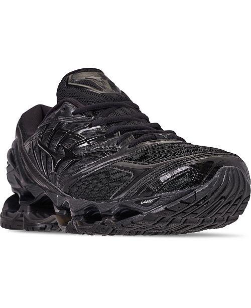 all black mizuno running shoes