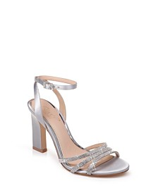 Jewel Badgley Mischka Sparkle Sandals