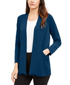 Alfani Open-Front Cardigan, Created for Macy's