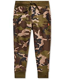 Polo Ralph Lauren Toddler Boys Camo-Print Fleece Joggers