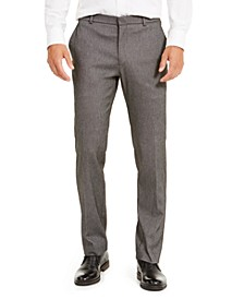 Men's Modern-Fit THFlex Stretch Knit Dress Pants