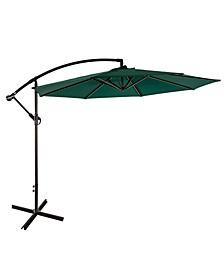 10' Cantilever Hanging Patio Umbrella
