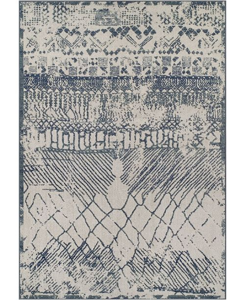 "D Style CLOSEOUT! Logan Lo8 Denim 7'10"" x 10'7"" Area Rugs"