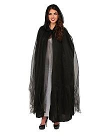 BuySeasons Women's Phantom Cape Adult Costume