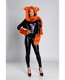Women's Fox Hooded Adult Costume Kit