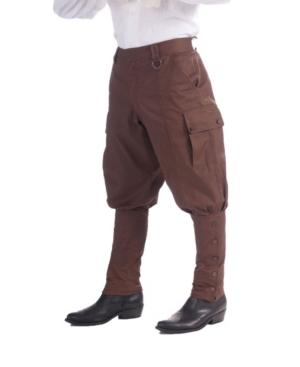BuySeasons Men's Brown Steampunk Pants