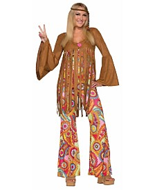 BuySeasons Women's Hippie Groovy Sweetie Adult Costume