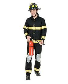 Men's Fireman Adult Costume