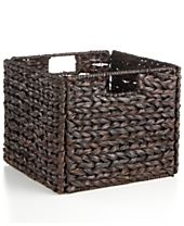 Household Essentials Storage Bin, Banana Leaf