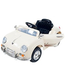 Lil' Rider Battery Powered Classic Sports Car With Remote Control and Sound