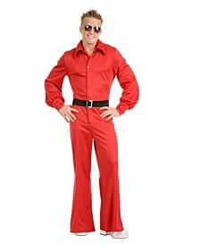 Men's Studio Jumpsuit Red Adult Costume