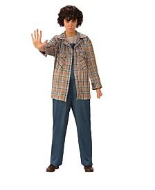 BuySeasons Women's Stranger Things Eleven's Plaid Adult Shirt