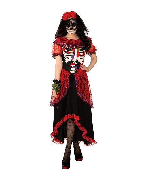 BuySeasons Women's Day of The Dead Woman Adult Costume