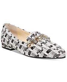 Blue by Betsey Johnson Farin Embellished Flats