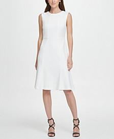 A-Line with Flounce Hem Dress