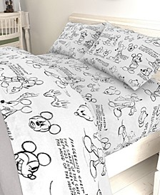 Mickey Mouse Sketch Full Sheet Set