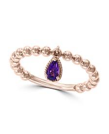 EFFY® Amethyst(1/6 ct. t.w.) Ring in 14k Rose Gold
