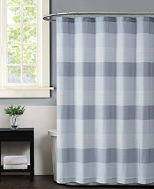 Multi Stripe Shower Curtain