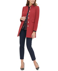 Tommy Hilfiger Topper Jacket, Printed Blouse & Pants