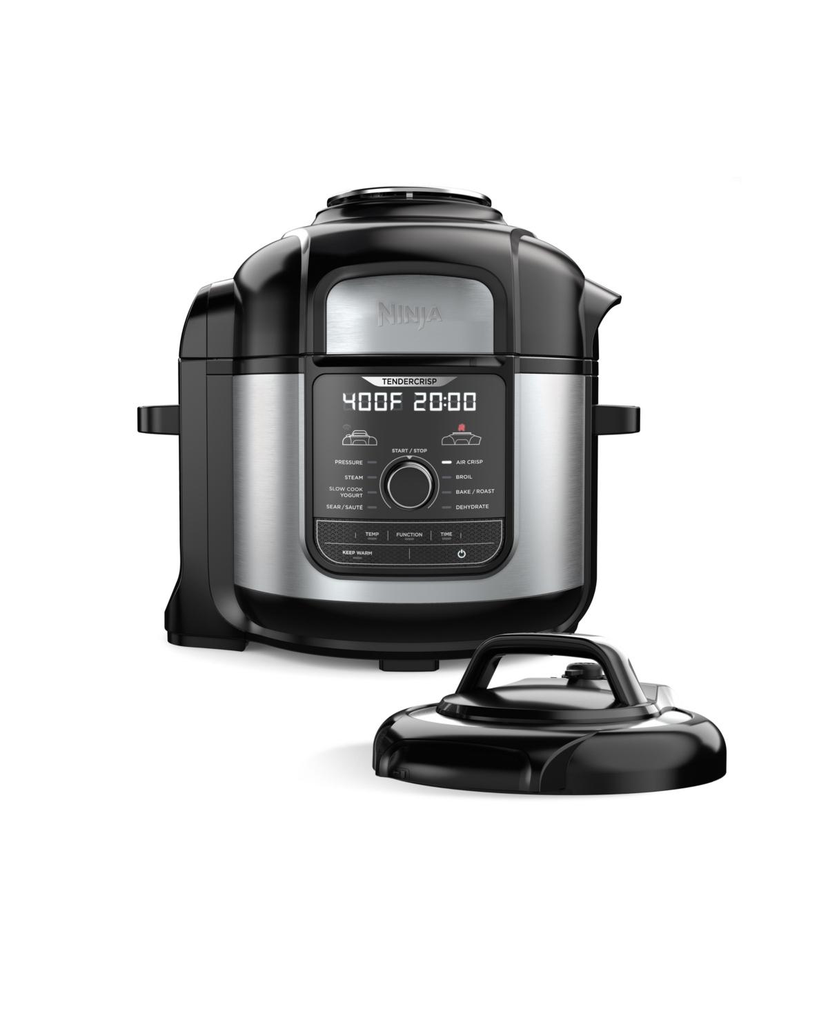 Ninja Foodi 8 Qt. Stainless Steel Pressure Cooker and Air Fryer, Silver