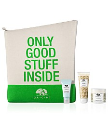 Receive a Free 4pc Bath & Comfort Gift with any $85 Origins Purchase (Up to A $93.20 value!)