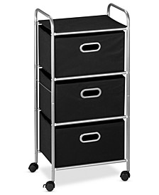 Rolling Cart, 3 Drawer