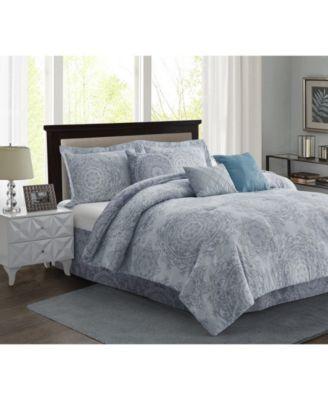 Bungalow 7-Piece Comforter Set - Full