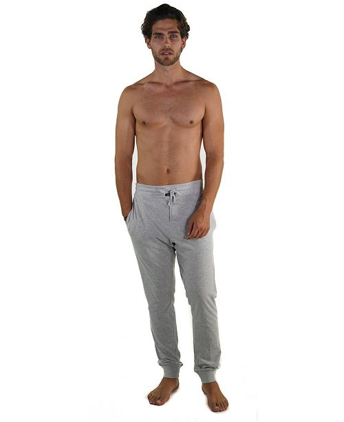 Members Only Jersey Knit Jogger Pant with Draw String