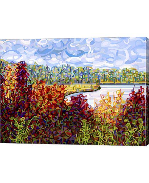 "Metaverse Summers End by Mandy Budan Canvas Art, 26.5"" x 20"""