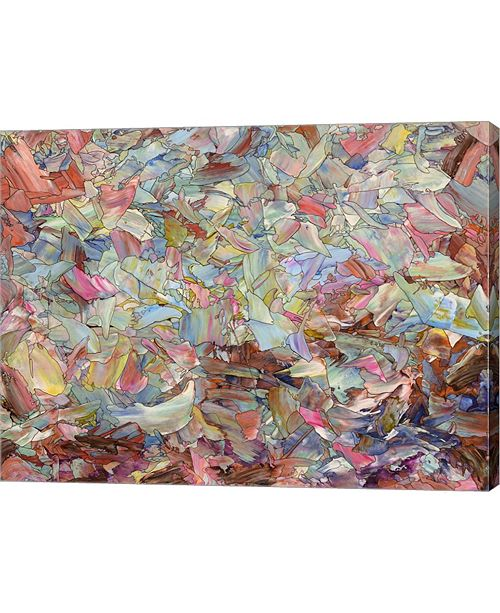 """Metaverse Fragmented Hill by James W. Johnson Canvas Art, 31.5"""" x 24"""""""
