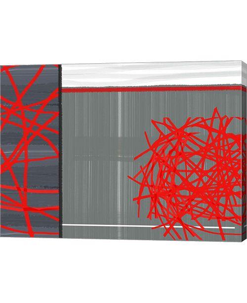"Metaverse Organized Chaos 3 by Naxart Canvas Art, 26.5"" x 20"""